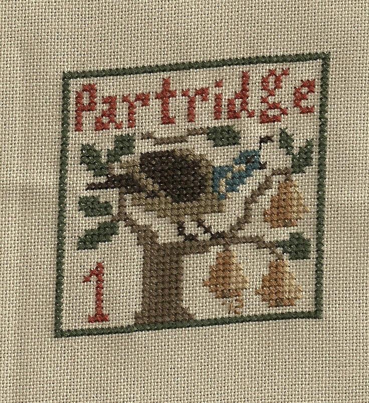 Blissfully Stitching: 12 days of Christmas