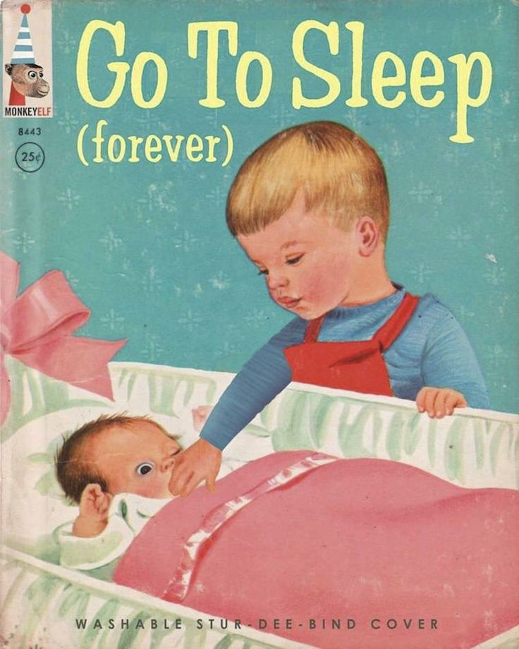 Sibling rivalry solved! Bad Little Childrens Books. This is all kinds of wrong!!