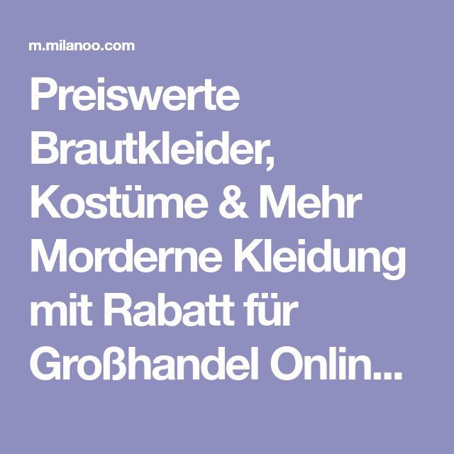 Preiswerte Brautkleider, Kostüme & Mehr Morderne Kleidung mit Rabatt für Großhandel Online - milanoo.com - Milanoo.com