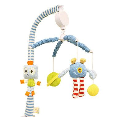 Lolli Living™ by Living Textiles Baby Bot Musical Mobile Set - buybuyBaby.com