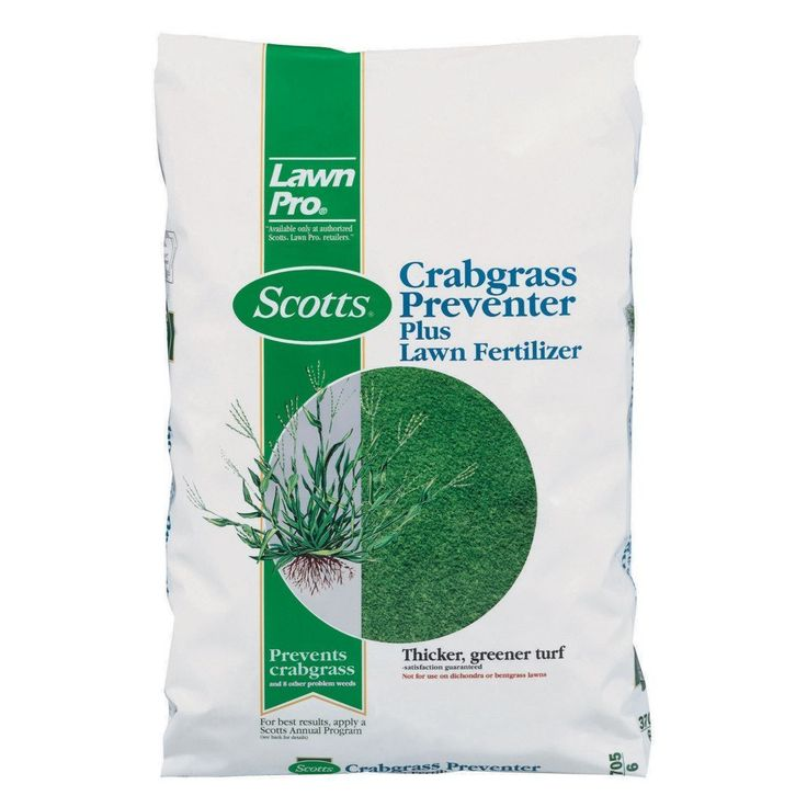 Scotts 39605 Lawn Pro Crabgrass Preventer Plus Lawn Fertilizer, 5M