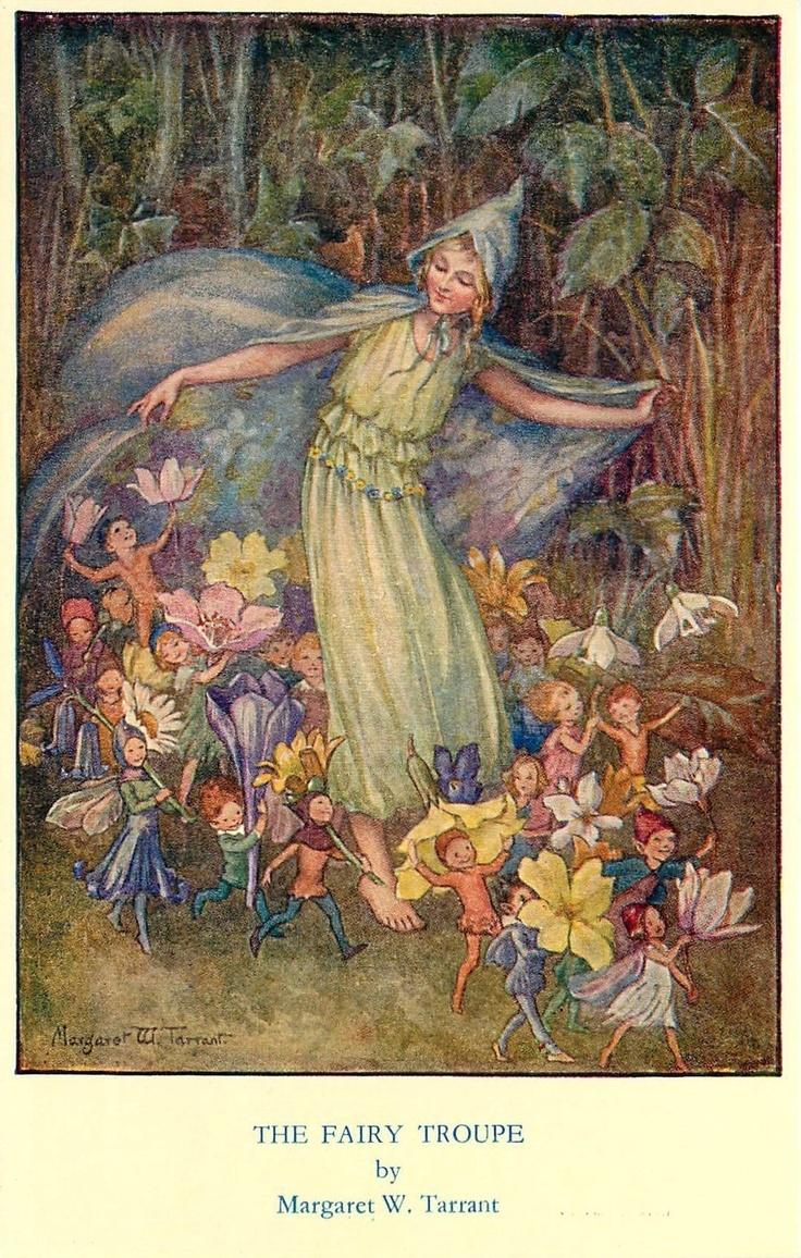 The Fairy Troupe, by Margaret W. Tarrant, Medici Society Pk 120 | eBay