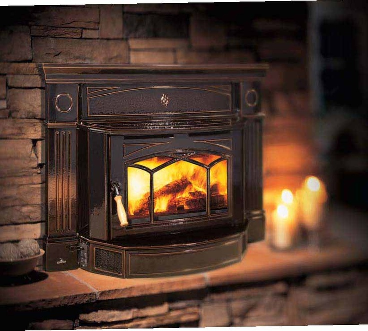 93 best Cabin Fire Places images on Pinterest : best wood fireplace insert : Wood Fireplace