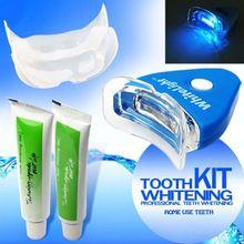 Kit casa Dentes Clareamento dental Gel Branco para Oral Peróxido De Branqueamento Profissional(China (Mainland))