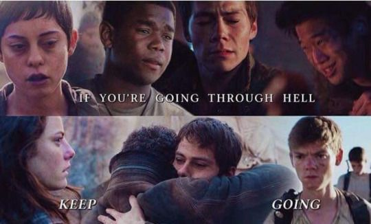 the scorch trials - quote by dylan o´brien