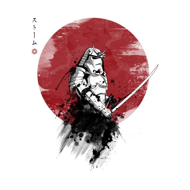 best star wars images star wars star wars art  star wars samurai designs created by ddjvigo on now starting at 14 on teepublic