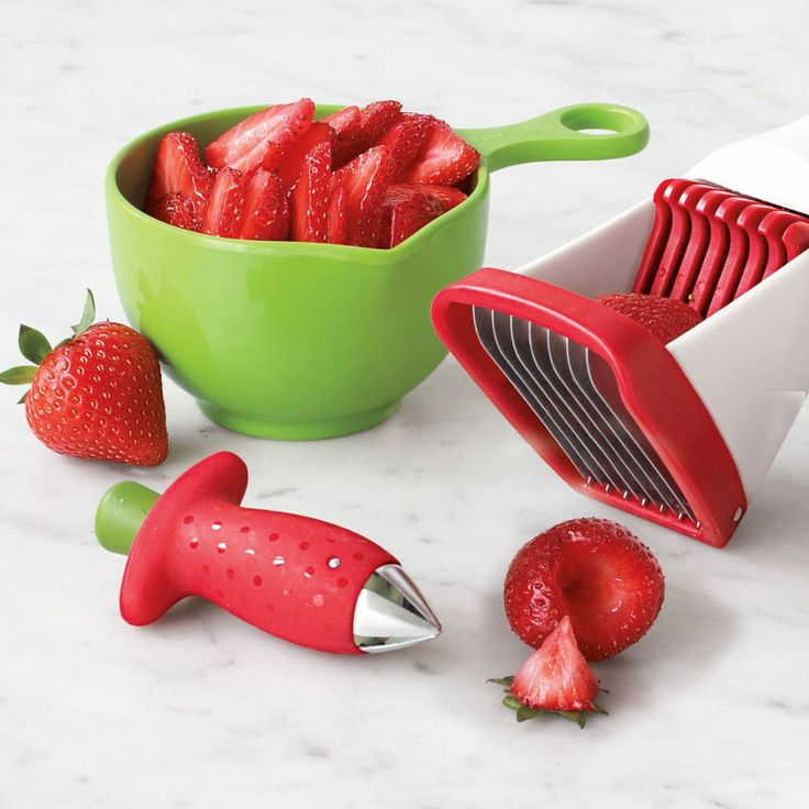 Chefu0027n StemGem Strawberry Huller. Strawberry HullerKitchen GadgetsKitchen  ...