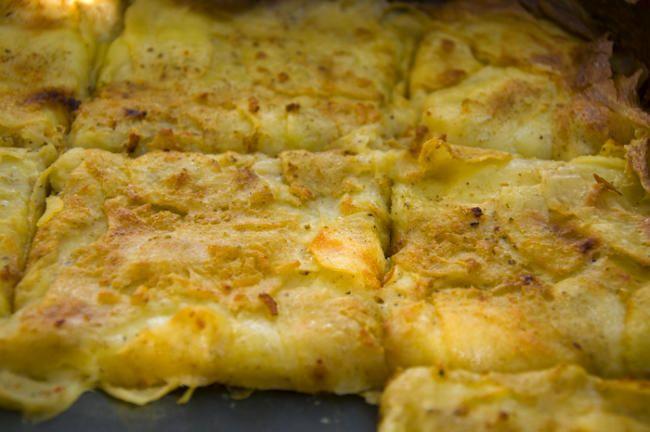Kartoffelgratin vom Blech