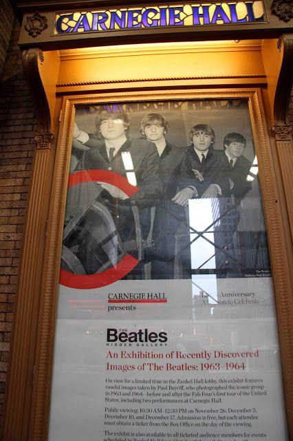 UN DIA EN LA VIDA DE LOS BEATLES: Los Beatles en el Carnegie Hall