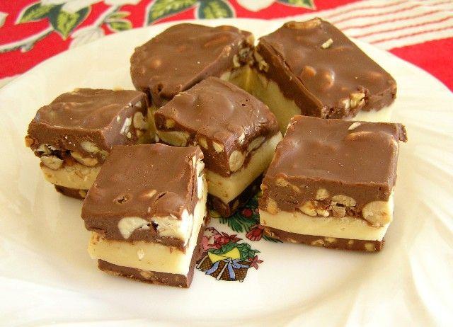 nut goodie bars - favorite Christmas treat!