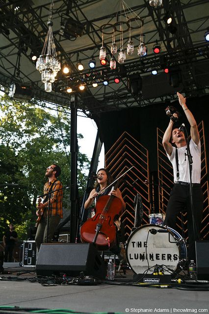 Can't wait to see The Lumineers next month! Have had various parts of their iTunes gig on repeat for days.