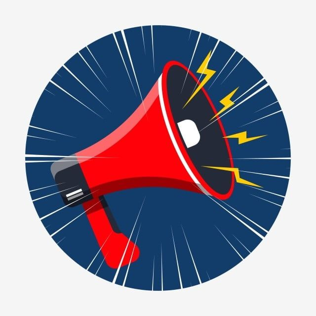 megaphone to make an announcement megaphone announcement speaker png and vector with transparent background for free download in 2020 megaphone cartoon template friends photography cartoon template