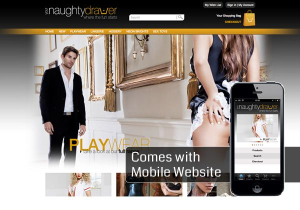 Your Naughty Drawer Web Design Doncaster