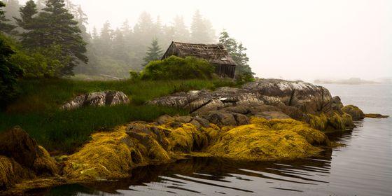 Fishing shack - Dublin Shore, Nova Scotia