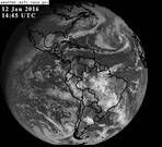 GOES East Full Disk Visible