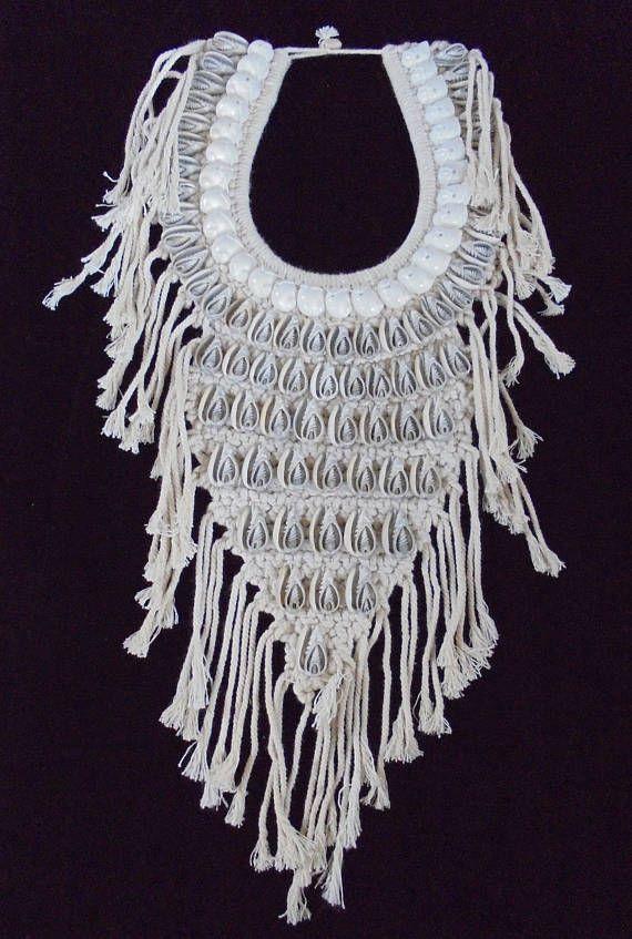 Cut Shell Necklace Boho Luxe Women Fashion Art Long Jewelry