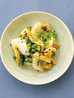 【ELLE a table】かぶと油揚げの七味唐辛子風味レシピ|エル・オンライン