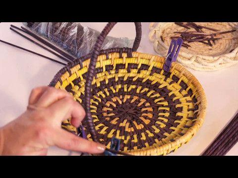 """Завершение плетения изделий """"этнографическая обмотка"""" - YouTube"""