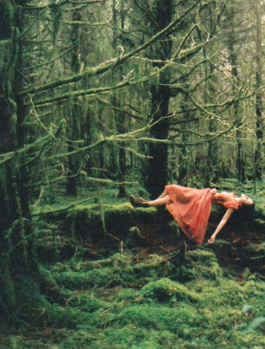 sleeping forest maiden of folklore, myth and legend.
