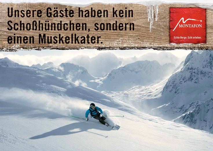 skiing Montafon valley, Vorarlberg
