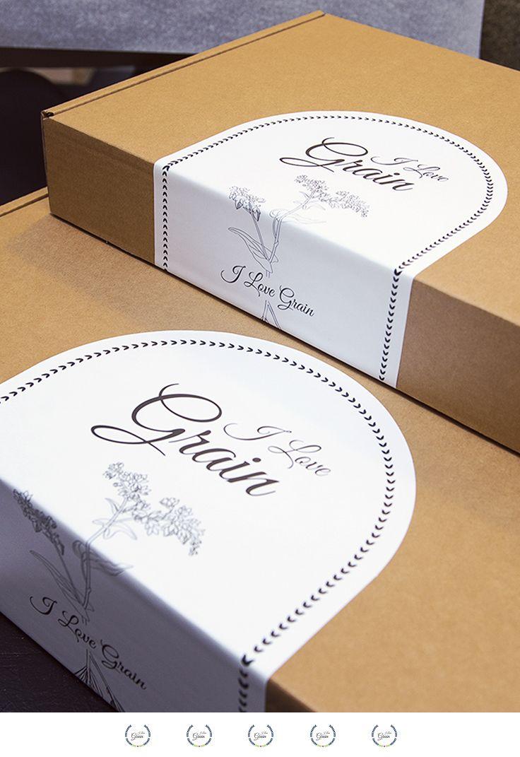 Boxes from I Love Grain www.ilovegrain.com