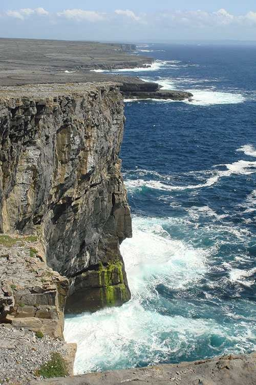 The Cliffs of Insanity or better known as the Cliffs of Moor.