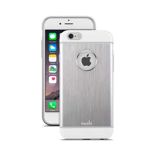 Moshi iGlaze Armour Case (Silver) - iPhone 6. From www.iToys.co.za