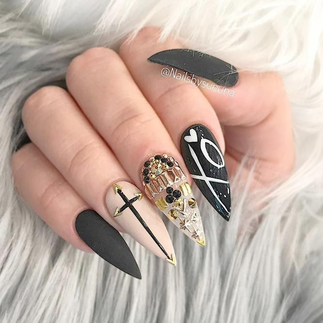 Best 25+ Stiletto nail designs ideas on Pinterest ...