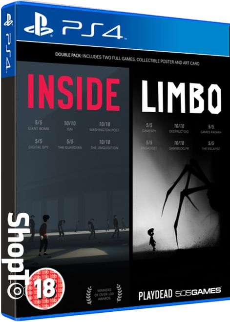 INSIDE / LIMBO Double Pack will be released on September 12 #Playstation4 #PS4 #Sony #videogames #playstation #gamer #games #gaming