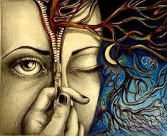 L'inconscio: L'insieme delle attività mentali che non sono palesati alla coscienza di un individuo. In senso più specifico, rappresenta quella dimensione psichica contenente pensieri, emozioni, istinti, rappresentazioni, modelli comportamentali, spesso alla base dell'agire umano, ma di cui il soggetto non è consapevole.