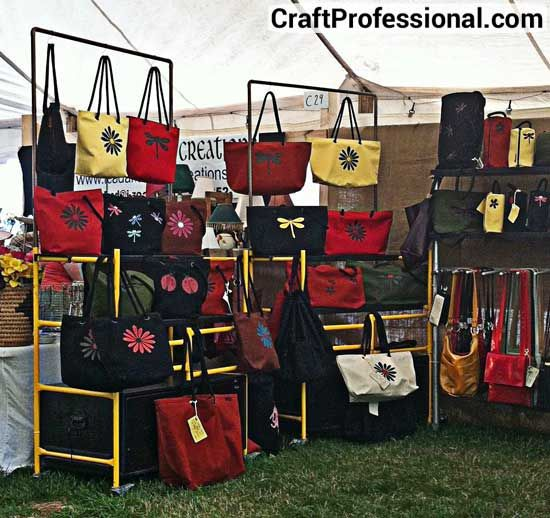 Accessories Display Booths 13 Purse And Hat Craft Show Booth Photos Pinterest Crafts