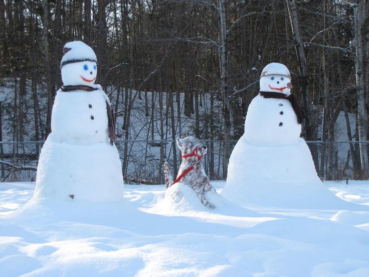 Snowman - photo by Jim Forbes