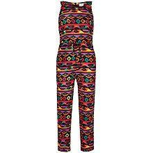 Buy Yumi Girl Tribal Print Jumpsuit, Multi Online at johnlewis.com