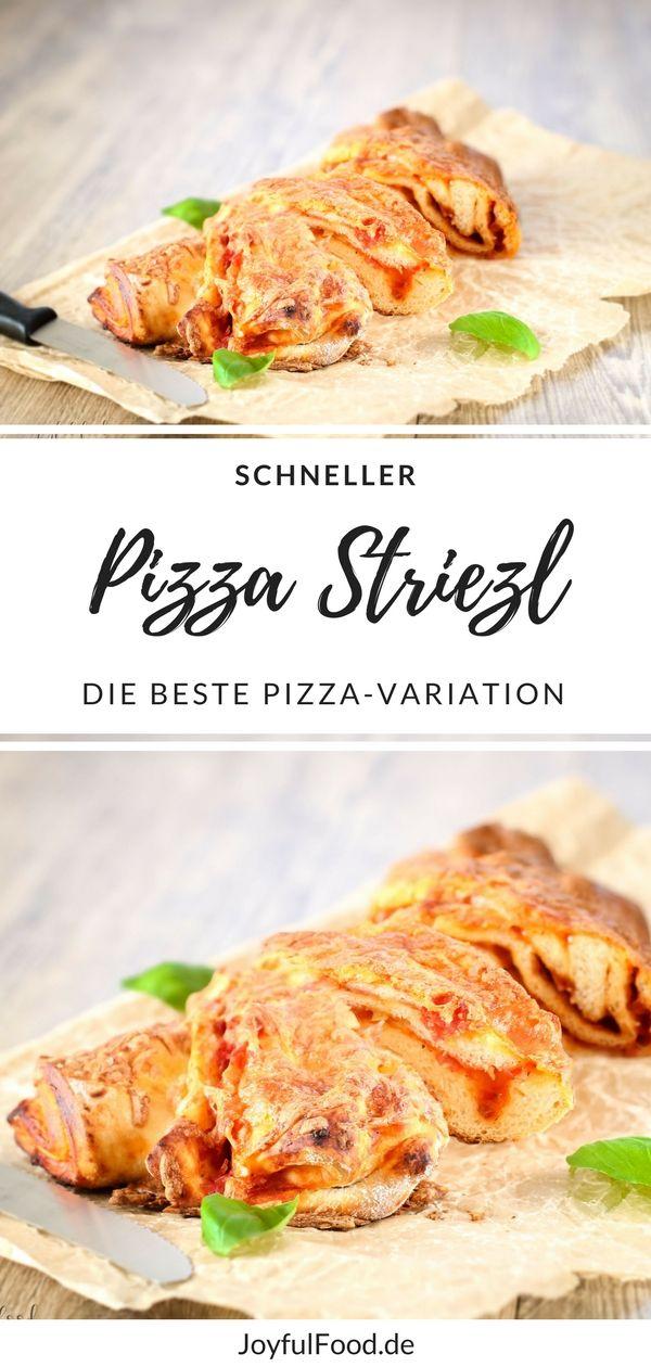 Super schnelles und einfaches Rezept für total leckere Pizza Striezl. Die beste Variation für eine Pizza.  #JoyfulFood #Pizza #Pizzastriezel #Pizzastriezl #Pizzazopf #Pizza #einfach #schnell #Rezept #schnellesRezept #Lecker #yummy #schnellundeinfach