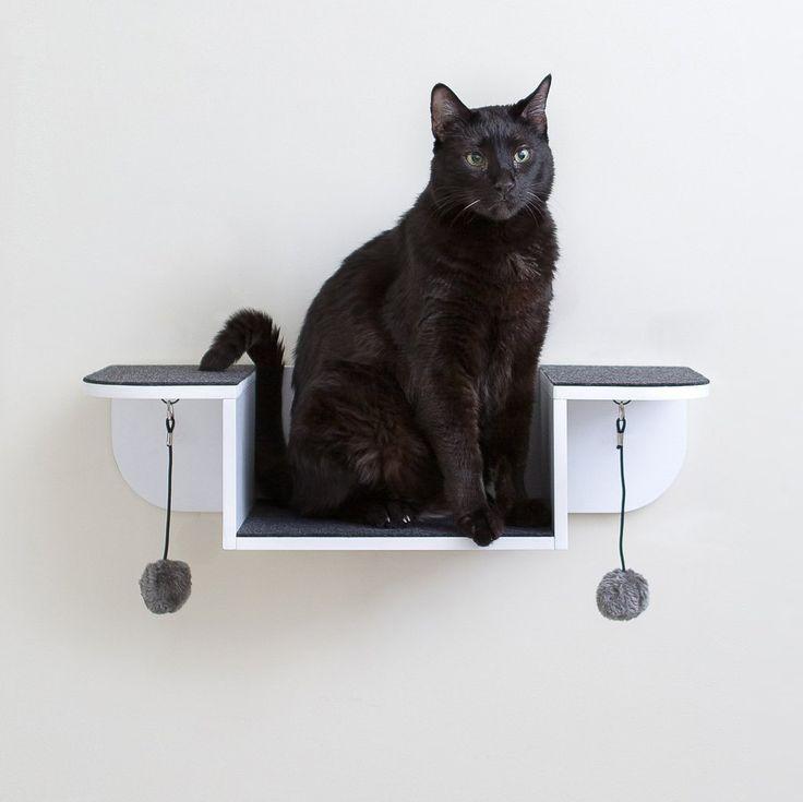 hauspanther modern cat furniture nest perch