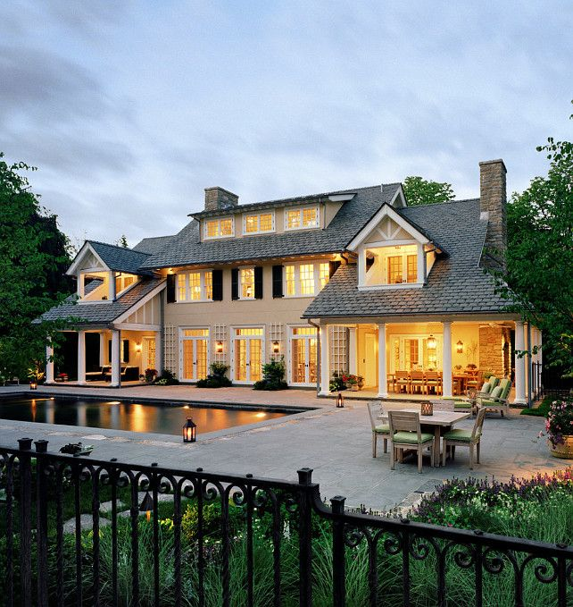 Home Exterior Ideas. Traditional Home Exterior Ideas #HomeExterior  #HomeExteriorIdeas Significant Homes LLC