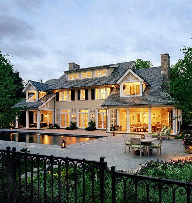 Home Exterior Ideas. Traditional Home Exterior Ideas #HomeExterior  #HomeExteriorIdeas Significant Homes LLC