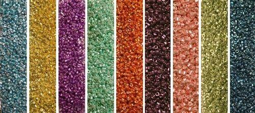 Galvanized Monday - Exclusive Mix of Miyuki Delica Seed Beads