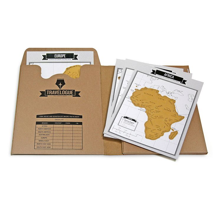 Combining the functionality of a travel planner, a checklist, a diary, and an interactive map, this kit is the ultimate travel companion.