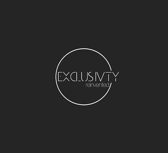 EXCLUSIVITY logo design