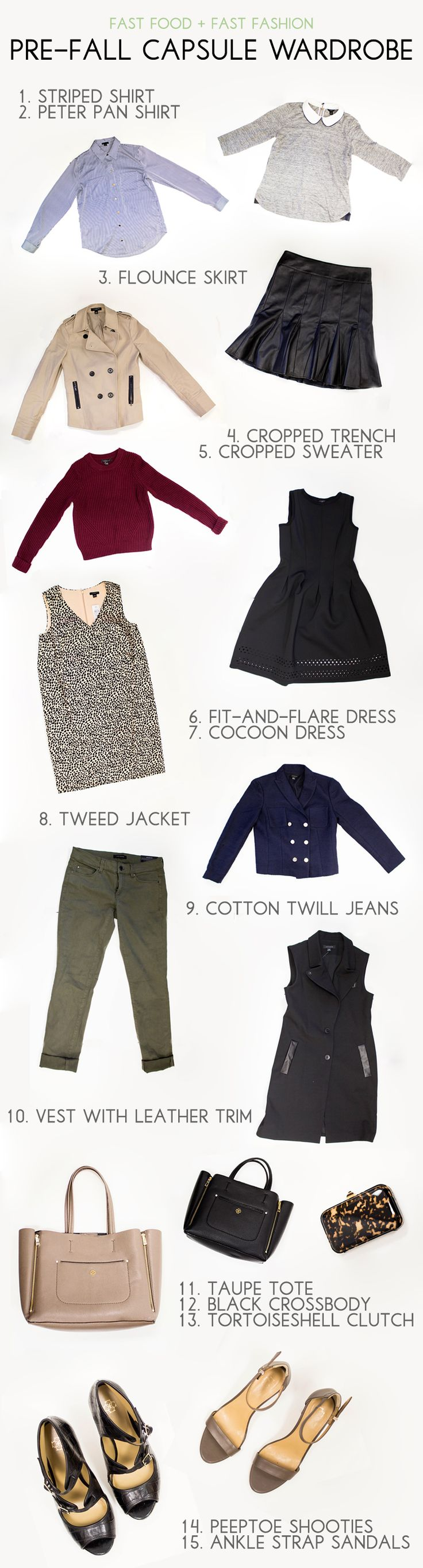 Loving How Fast Food + Fast Fashion Styles These Ann Taylor Pieces into FIFTEEN Separate Looks. Check it out on her blog.