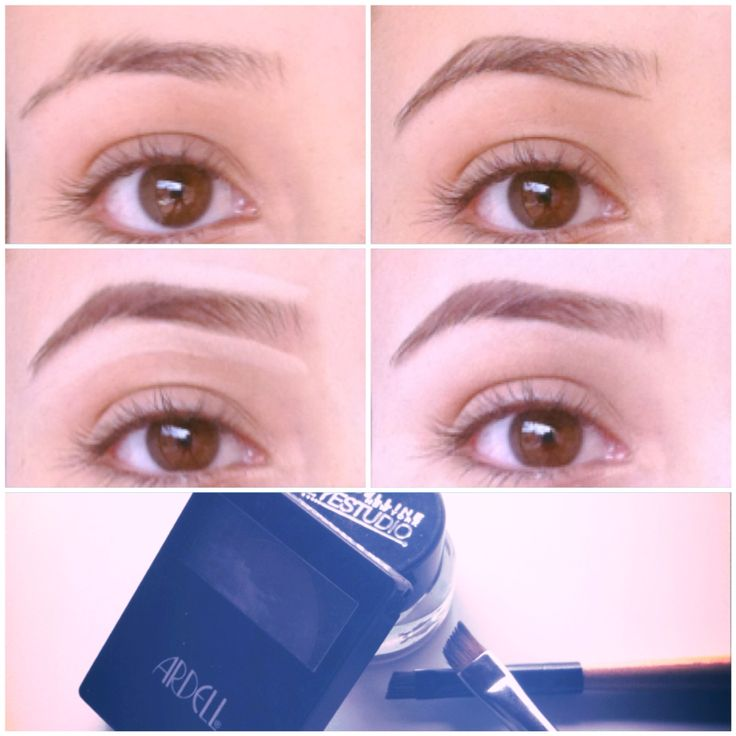 Paso a paso cejas  How to eyebrows step by step