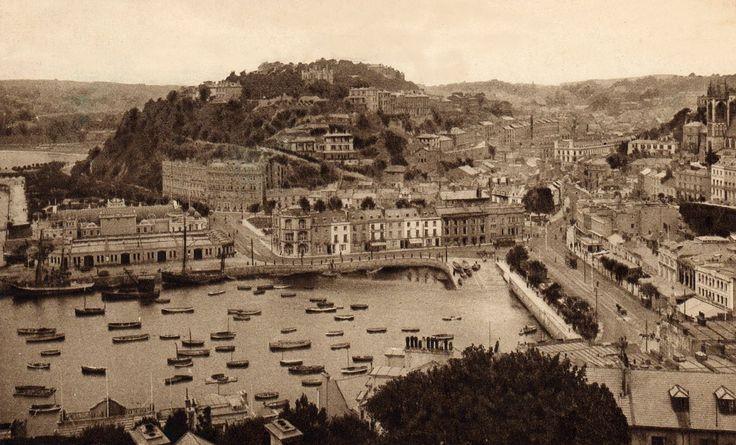 Devon, Torquay from Vane Hill c.1931