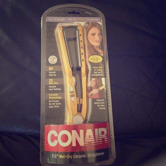 Conair hair straightener Conair hair straightener brand new in box never used!! Conair Other