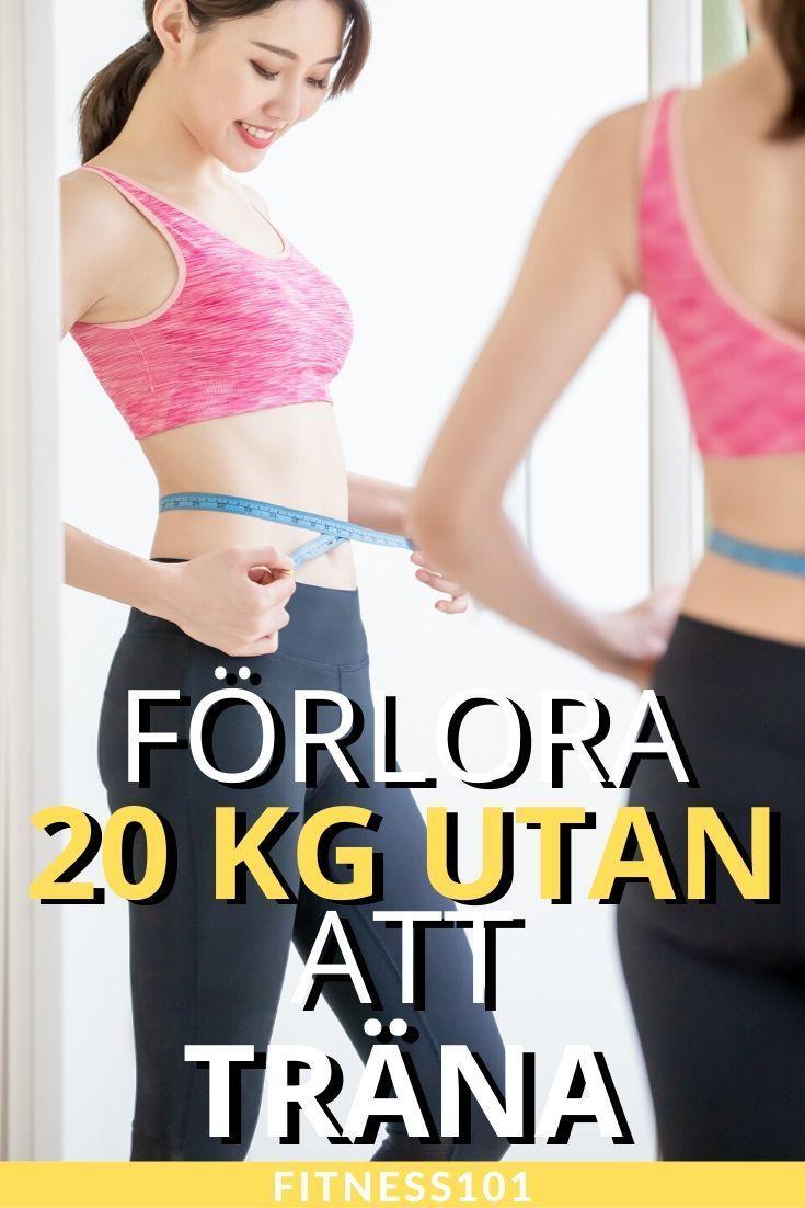 gå ner i vikt lätt