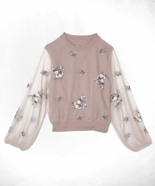 【ZOZOTOWN】eimy istoire(エイミーイストワール)のニット/セーター「チュール刺繍ニットプルオーバー」(1117511135-0)を購入できます。