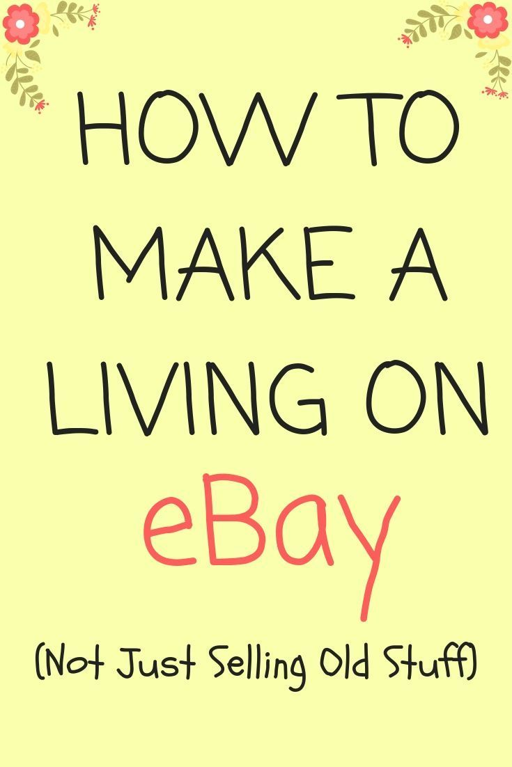 How To Earn A Regular Income On Ebay Ebay Selling Tips Making