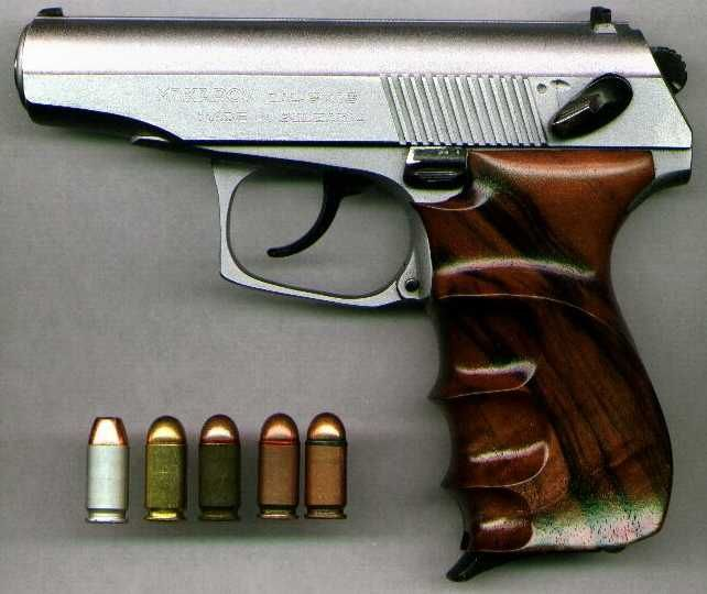Makarov pistol,9-18 mac.