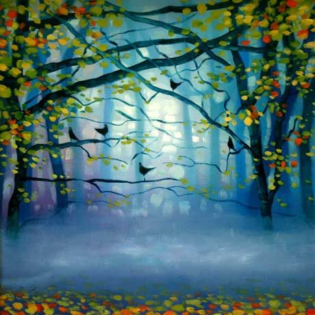November Mist by Sharon McDaid - PRINT