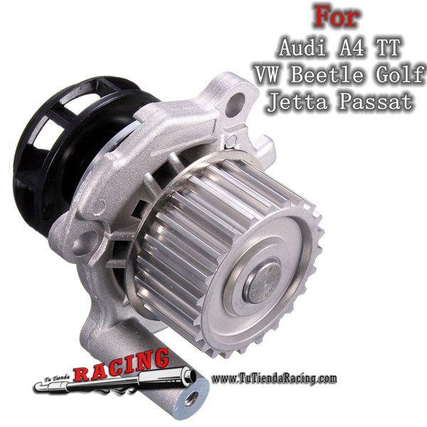 Recambio Bomba de Agua Radiador Para Audi A4 TT VW Golf Jetta Passat 1.8 2.0L -- 26,11€